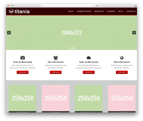 Titania Theme for WordPress top WordPress theme - txtoeditorial.es