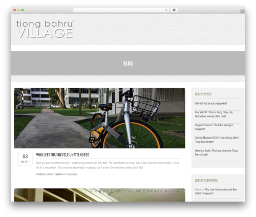 Free WordPress Projects by WooThemes plugin - tiongbahruvillage.com