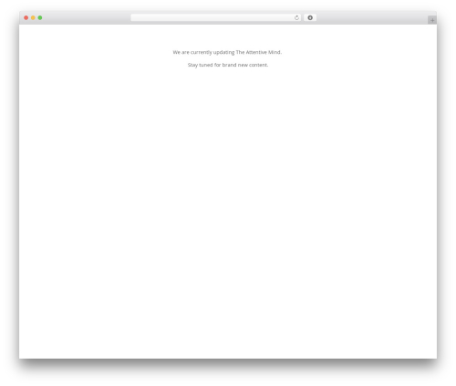 WordPress monarch plugin - theattentivemind.com
