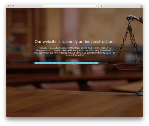 WP template The Modern Law Firm - trueway.co.uk