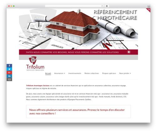 WordPress x-shortcodes plugin - trifolium.ca