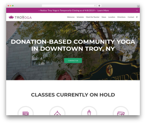 Zerif Lite theme free download - troy-yoga.com