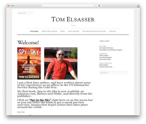 Elemin premium WordPress theme - tomelsasserauthor.com