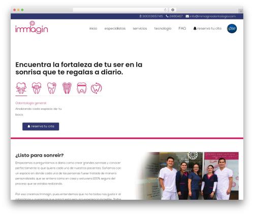 MedZone Lite free WP theme - immaginodontologia.com