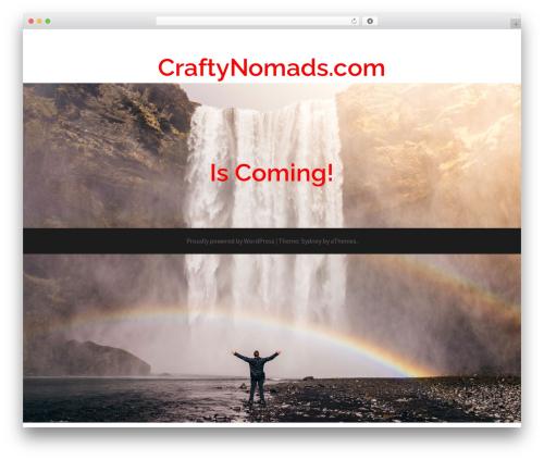 Sydney WordPress template free - craftynomads.com