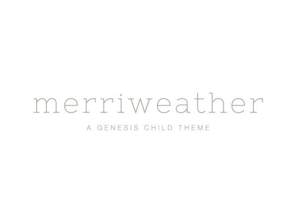 WP theme Merriweather