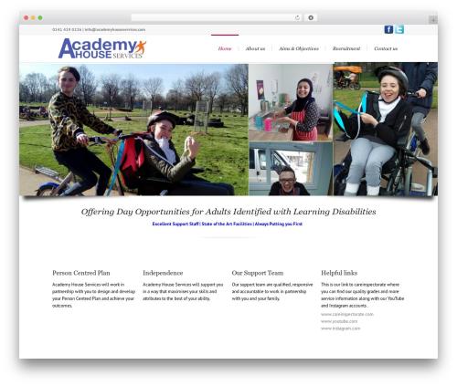 Lounge WP theme - academyhouseservices.com