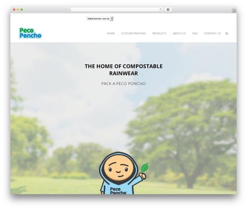 Theme WordPress Bridge - pecoponcho.com