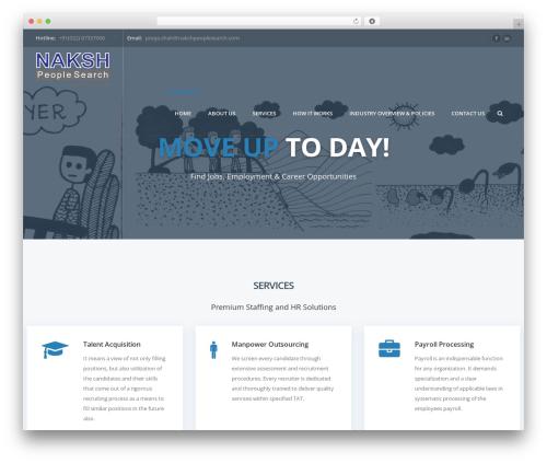 injob business WordPress theme - nakshpeoplesearch.com