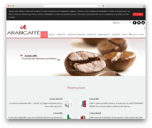 Template WordPress AccessPress Staple Pro - arabicaffe.com