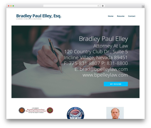 Template WordPress Ascension - bpelleylaw.com