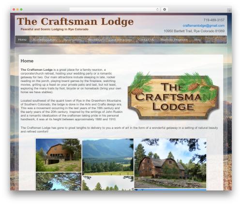 Theme WordPress Child Of Responsive Theme - craftsmanlodge.com