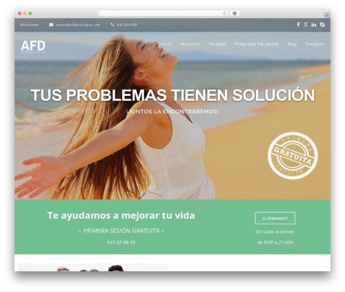 Selfie free website theme - afdpsicologos.com