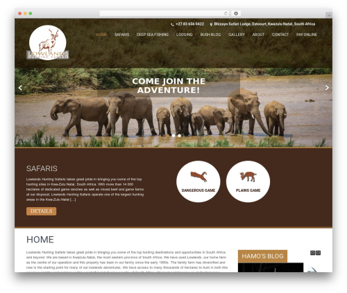 SKT Coffee theme free download - lowlandshuntingsafaris.com
