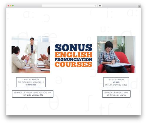 Themify Fullpane WordPress theme design - sonus-vn.com