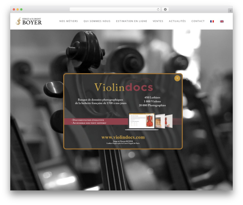WordPress theme Wp_Haswell - boyerlutherie.com