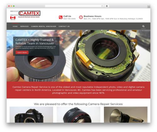 WordPress theme Tech Life - camtexgroup.com