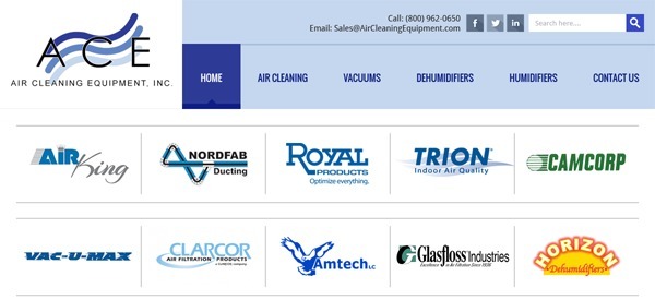 WP template Air Cleaning Equipment Inc
