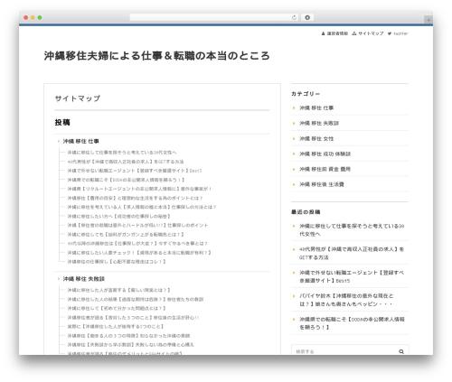 Free WordPress PS Auto Sitemap plugin - okinawa-girl.com