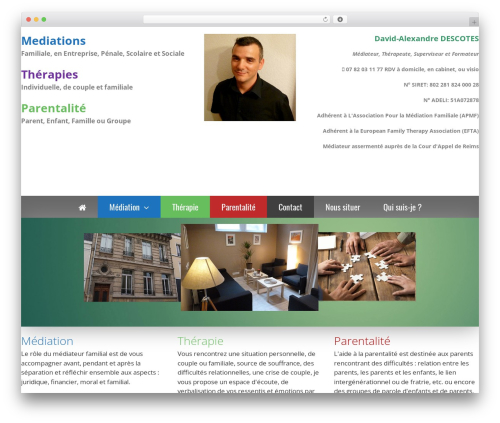 GeneratePress template WordPress free - mediation-reims.com