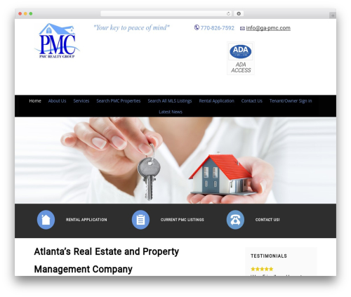 Headway Base WP theme - pmcrealtygroup.com