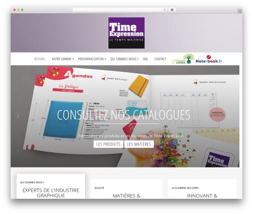 SimpleGreat WordPress theme - agendas-time-expression.com