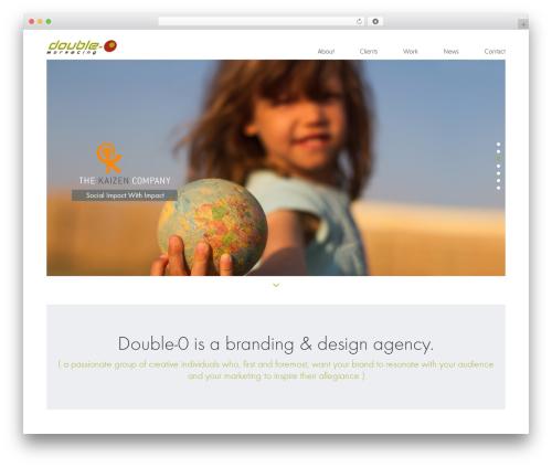 Milo WP template - double0marketing.com