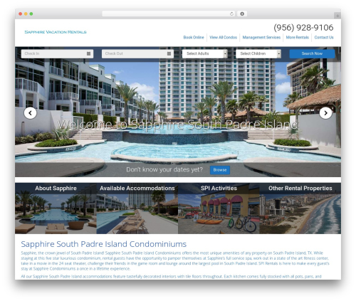 StreamlineCore SanDiego Theme (E) WordPress website template - vacationsapphire.com
