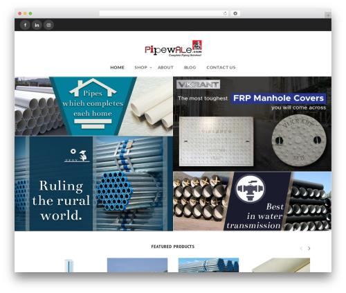Theme WordPress Wowmall - pipewale.com