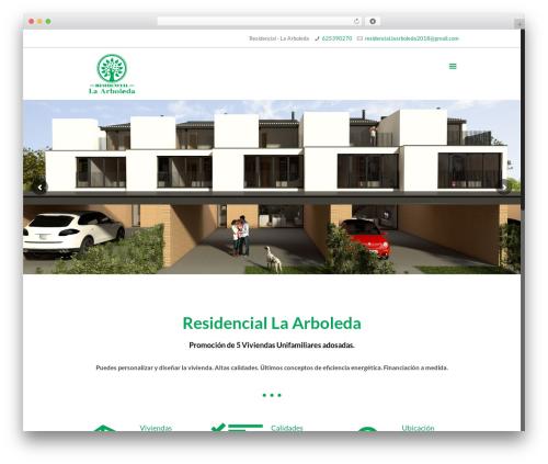 WordPress theme Betheme - residencial-laarboleda.com