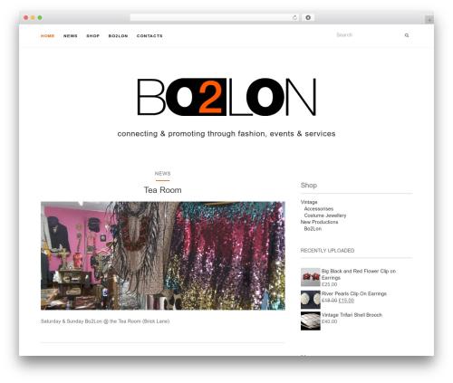 Activello template WordPress free - bo2lon.com