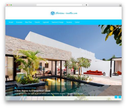 Holidays WordPress blog theme - tourisme-souillac.com