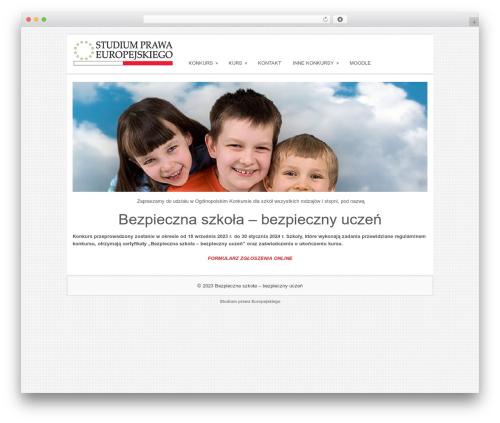 Sofix WordPress theme - bezpieczna-szkola.com