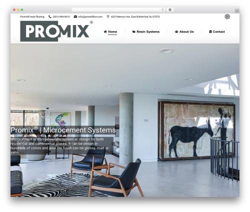 The7 WordPress theme - promixfloor.com