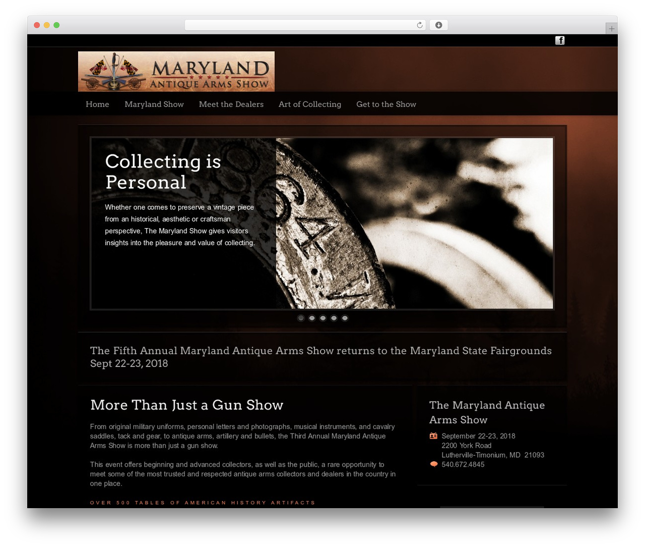 WordPress theme Modular - visitmarylandshow.com