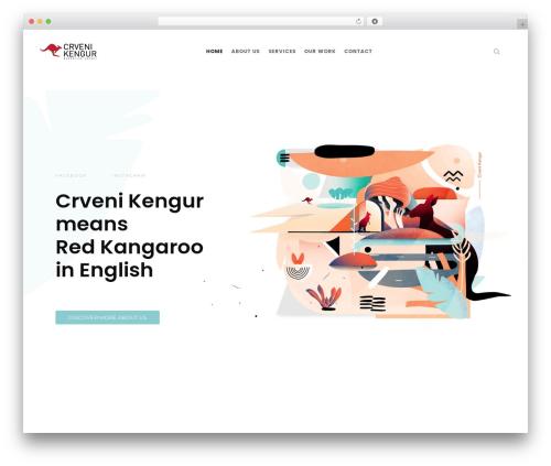 WordPress website template FatMoon - crvenikengur.com