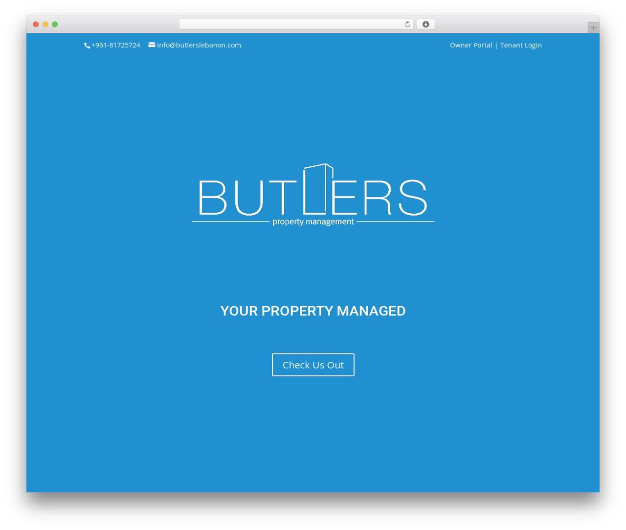 Divi best real estate website - butlerslebanon.com