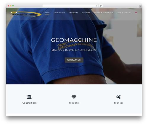 Parallel Pro WordPress website template - geomacchine.com