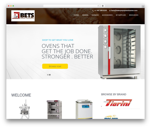 SKT Coffee WordPress template free - bakeryequipmentcenter.com
