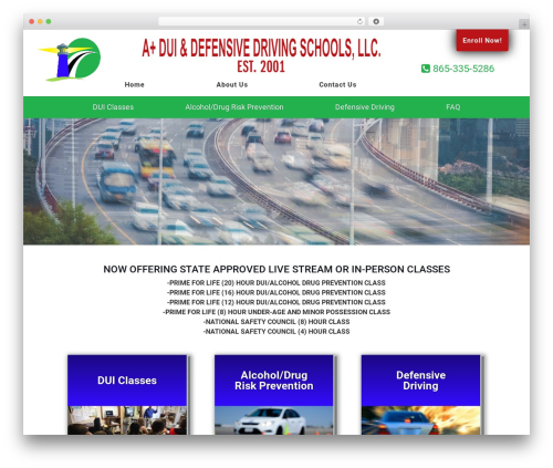 Theme WordPress Knoxweb - duischooltn.com
