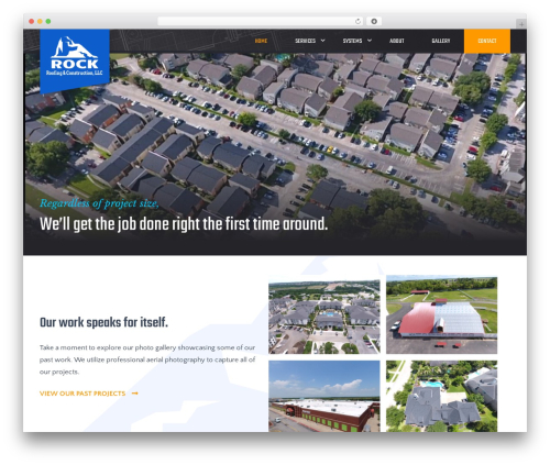 WP template Big Splash Web Design - rockroofingandconstruction.com