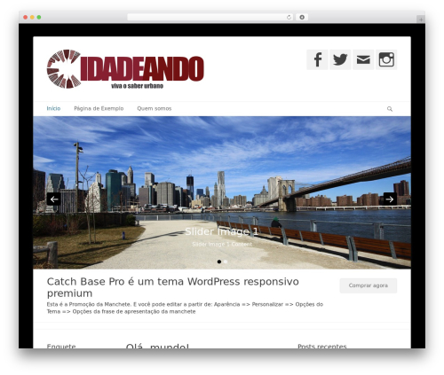 Catch Base Pro WP theme - cidadeando.com
