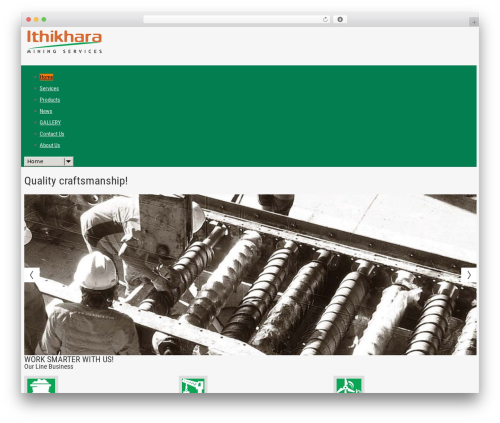 cherry WordPress theme - ithikhara.com
