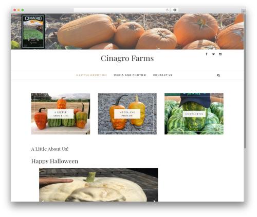 Edge template WordPress free - cinagro-farms.com