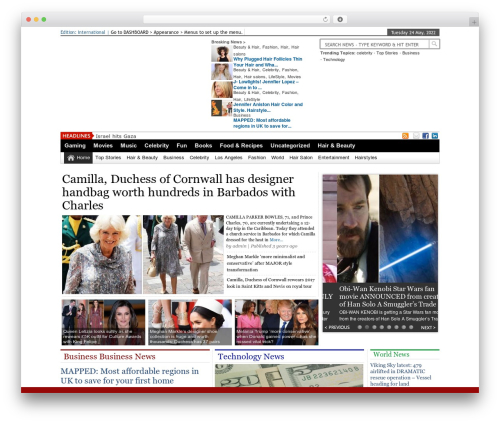 Online News Portal best WordPress magazine theme - looksmagazine.com