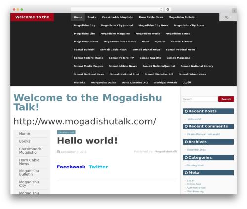 SmartAdapt free website theme - mogadishutalk.com