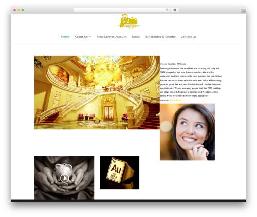 Theme WordPress Divi - luxury79au.com