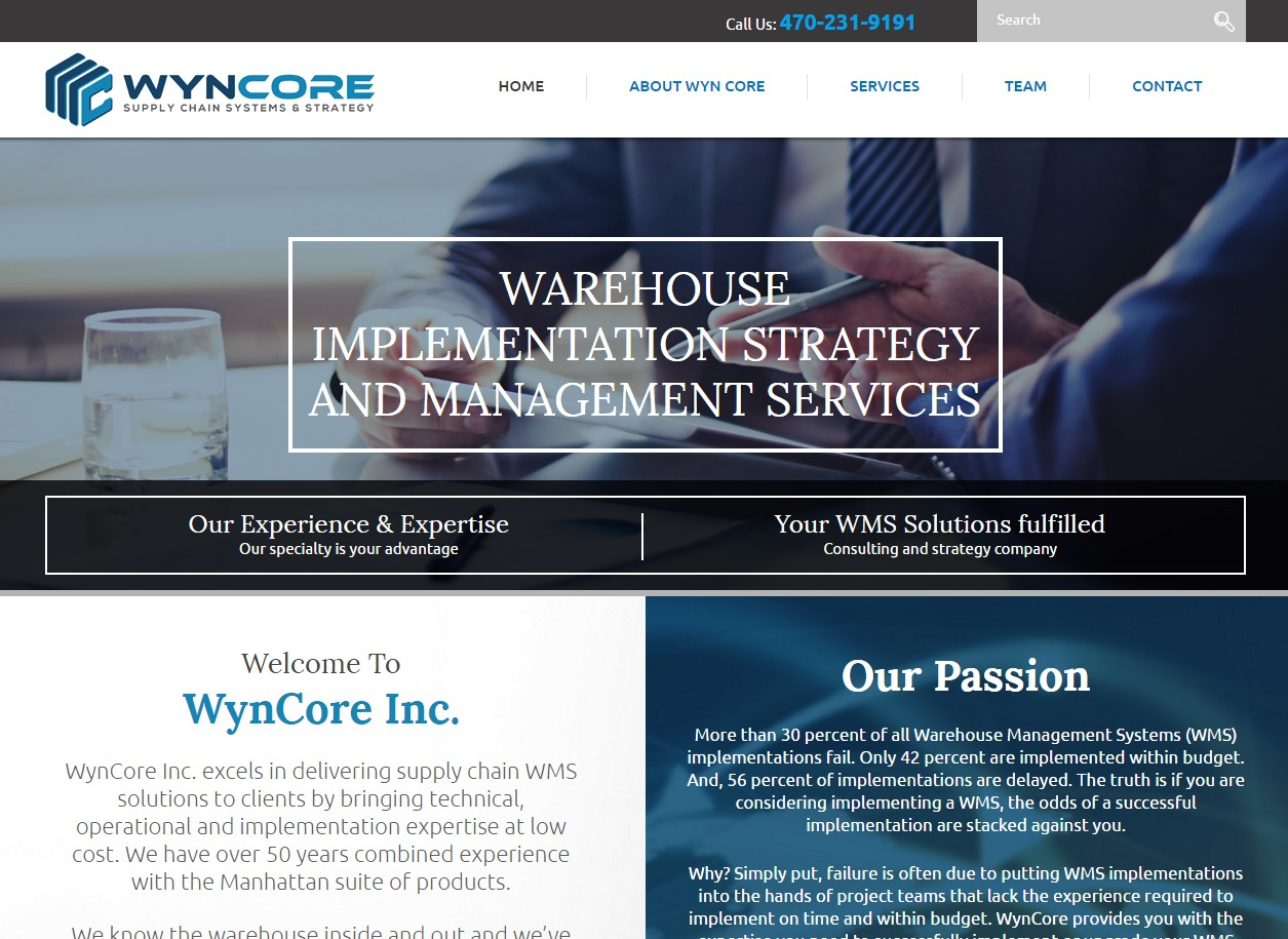 WYN CORE template WordPress