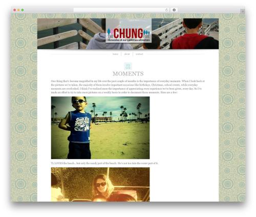 Blissful-Blog top WordPress theme - thechungfive.com