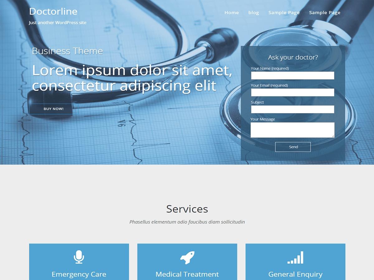 Doctorsline WordPress gallery theme